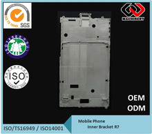 15 years manufacturer Die casting Al. mid plate for cell phone/Lap Top/Pad/ LCD screen Precision casting small metal parts