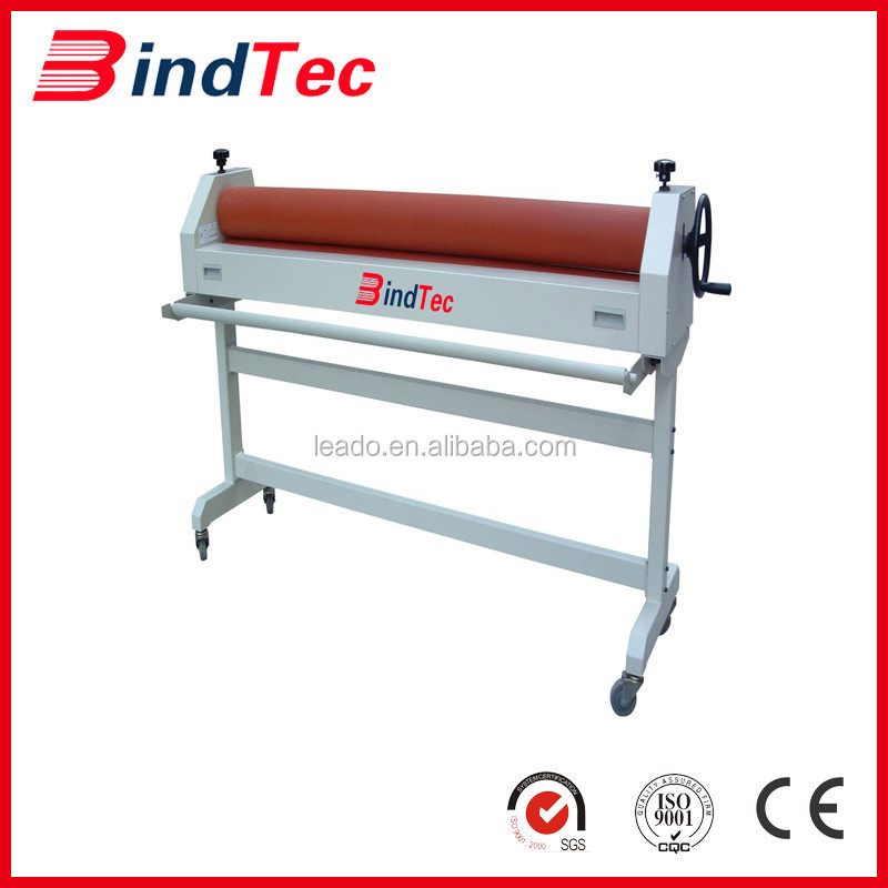 BD-TSD1.3m electric manual cold rolling paper laminating machine with cheap price