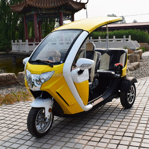 Covered Motorcycle Tricycle Electric Bicycle Truck 3 Wheel Car