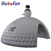 snowman giant inflatable air dome tent structure igloo inflatable tent for Christmas events