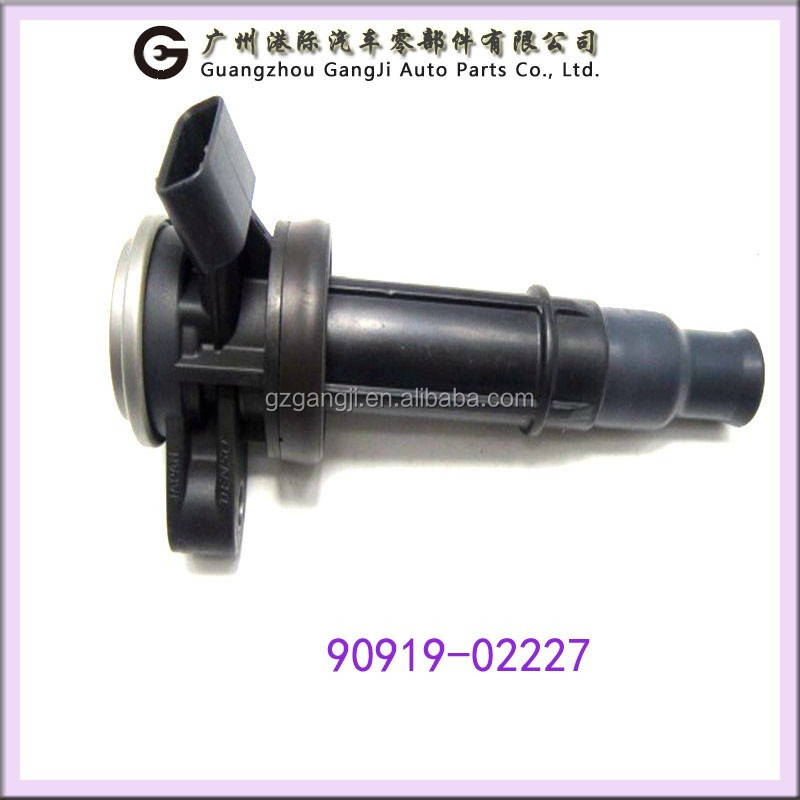 Second Hand Car Parts Ignition Coil 90919-02227 for Toyota RAV4/CALDINA