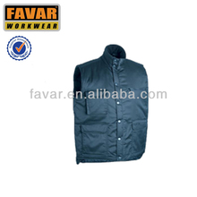 worker vest multic pocket safety wear with quilted