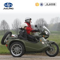 JH600B 600CC best cruiser motorcycle with side car for sale(Direct factory)