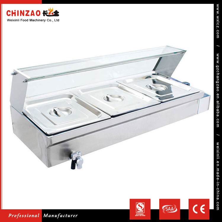 CHINZAO Alibaba Latest Chinese Products 220V Electric Soup Bain Marie For Cooking Equipment