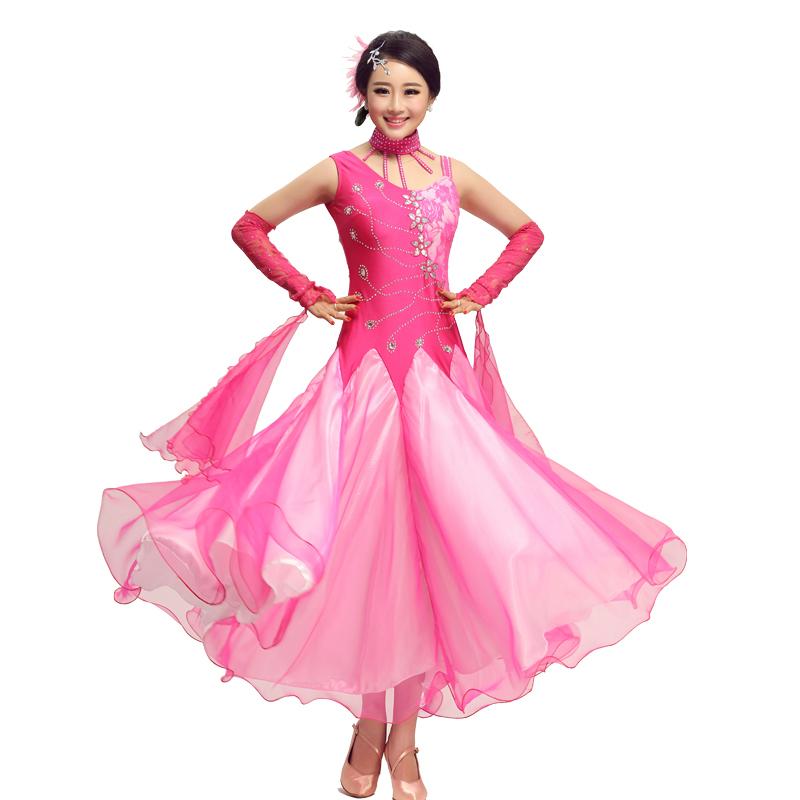 Velvet Ballroom Dance Dress Fringe Dress Ballroom Dancing Latin