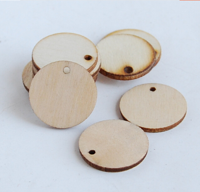 Unpainted Natural Round Blank Wood Slices,wood crafts slices for for Crafting, Displays and Creating