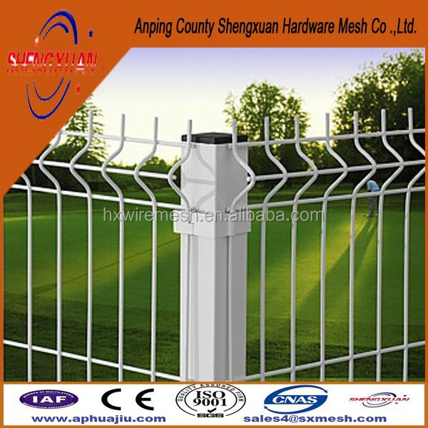 Privacy Villa Wire Mesh Fence / Clear View Fencing / Plastic Coat Weld Wire Fencing Internal Factory