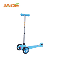 CE popualr mini child 3 wheels kid kick scooter with LED light