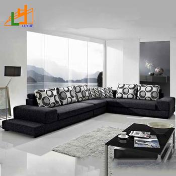 Latest New Design Modern Sofa Set Home Furniture 2018 Fabric Corner Sofa Buy Fabric Corner