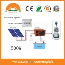 (HM-OFF500W) 500W China Best Price mini solar power system for africa