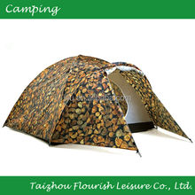 Camouflage Military Woodstock Hiking/Camping/beach Tent For 3-4 persons tent