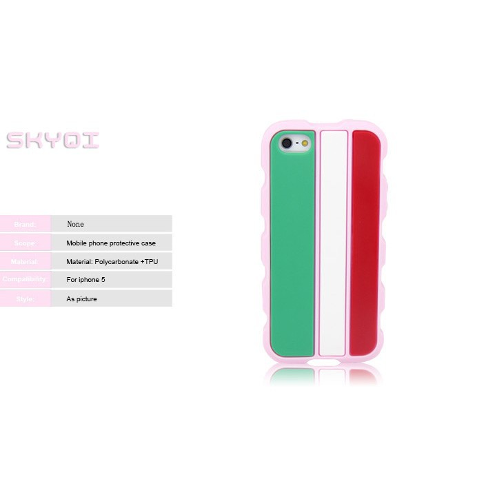 cheap flag cover case for iphone 5, silicon bulk case for various mobile phone