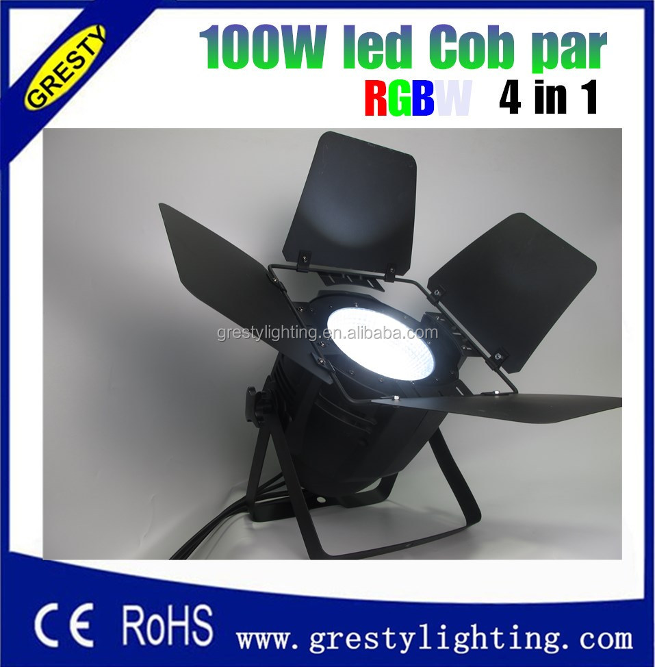 100w 4in1 COB LED Par with Small Size high brighten