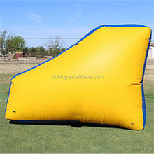Factory wholesale inflatable bunkers paintball, wing shape paintball bunker for sale K8060