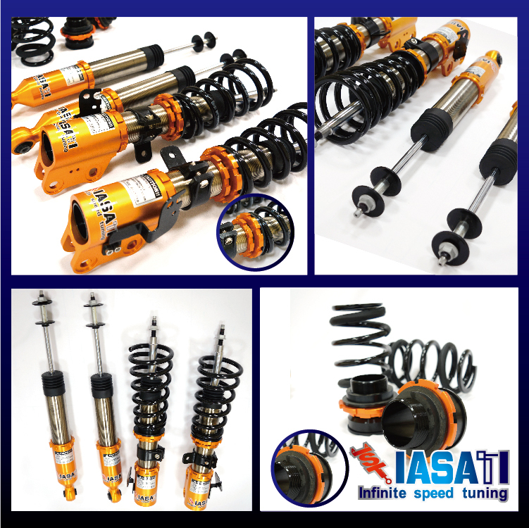High Quality suspension parts coilover for QUATTRO