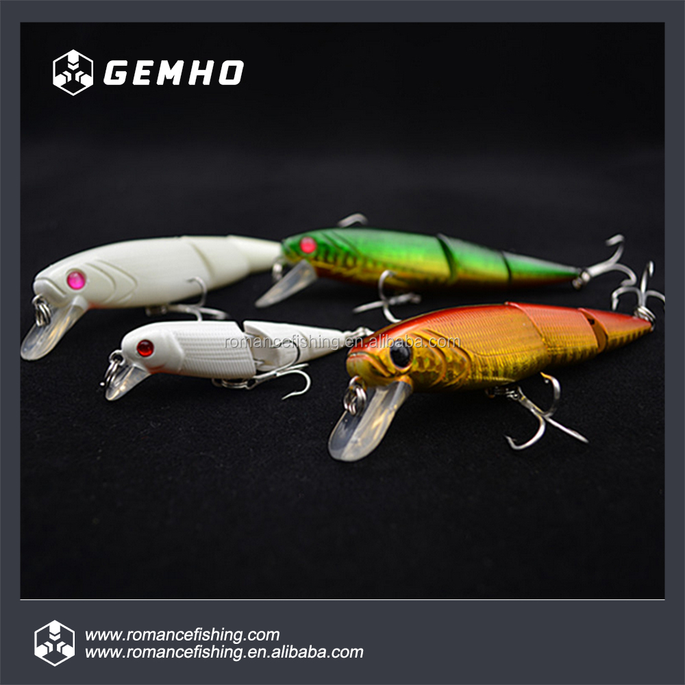 ABS Plastic Multi Jointed Fishing Lures Luminous Swimbaits