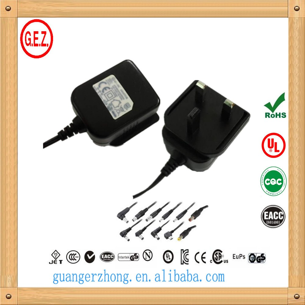 universal switching AC/DC adapter 12v500ma with CE LVD EMC certificate