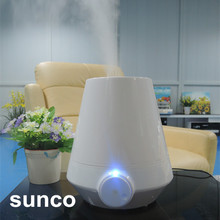2017 new design clay humidifier with lights