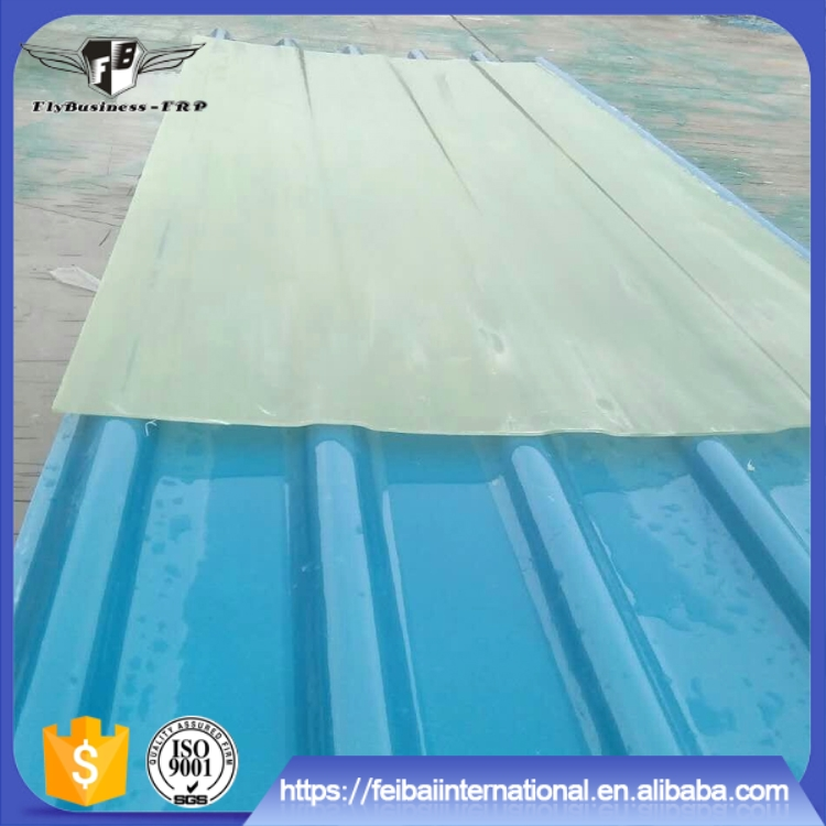 High quality uv protected greenhouse corrugated insulated frp panels