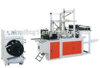 Computer conrtrol full automatic continuous-rolled garbage bag/trash bag making machine