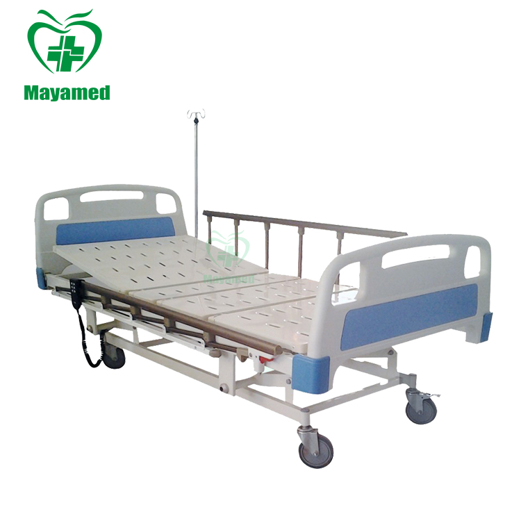 CE approved used ABS Three-function foldable Electric Medical Care hospital patient bed factory price