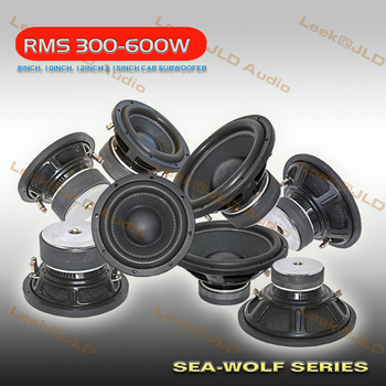 High Performance 8inch,10inch,12inch &15inch RMS300W-600W Car Audio Subwoofer