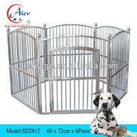 outdoor dog pen steel dog cage sale