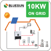 Bluesun factory top selling home solar kit/10kw home solar power system