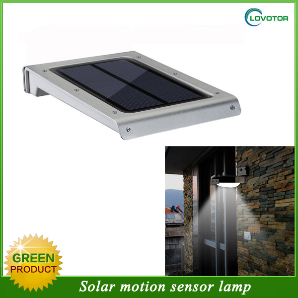 High lumens solar led garden light solar motion wall light solar light motion sensor with Remote control