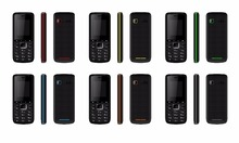 Factory wholesale 2G GSM mobile phone with double sim/mp3/mp4/wifi/FM/Earphone