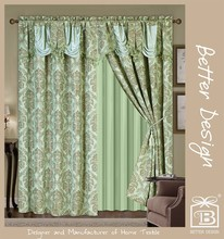 Blackout Fabric Window Curtain Style For Dubai Made In China