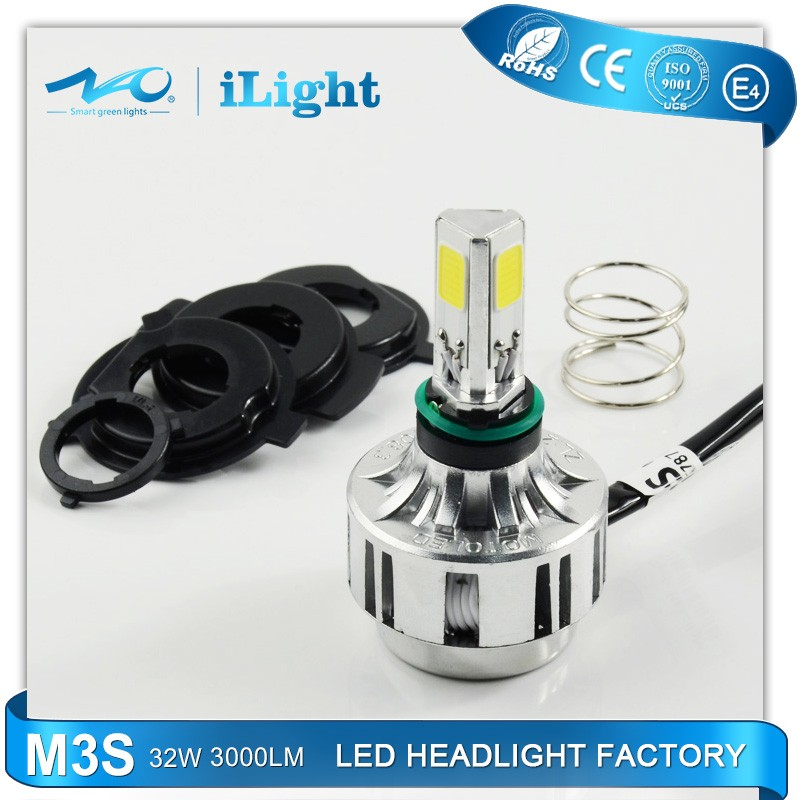 NAO led headlight 32w bulb 3000lm motorcycle led head lamp M3S