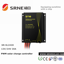 solar charge controller 24V 20A with daylight/night light control recognition