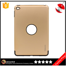 Hot sale cover case for ipad mini 4 tpu&pc Hybrid Armor case cheap mobile phone cases