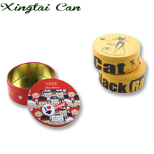 Round Small Tin Can For Candy Packaging,Candy Tin Cans For Food Canning