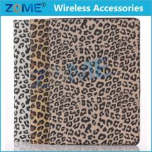 Fine for iPad 6 for iPad air 2 Wild Lovely Leopard PU Wallet Leather Case Covers