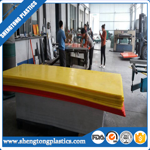 Customized uhmw/<strong>pvc</strong>/uhmwpe /arcylic yellow plastic sheet for sale