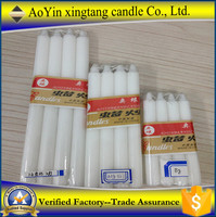 White candle 35g 40g house candle