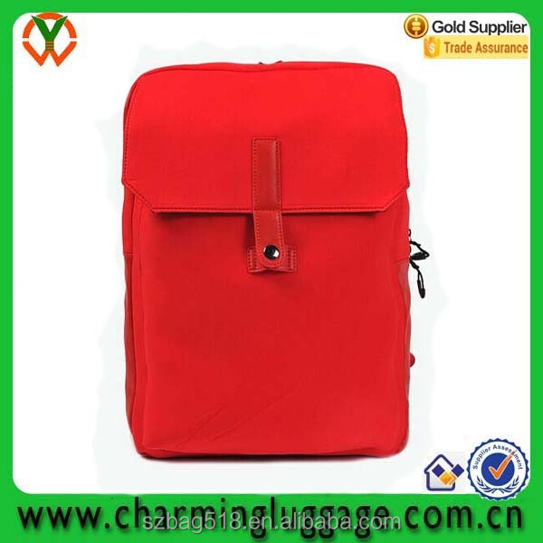 custom wholesale fashion new design school bag/ waterproof travel neoprene backpack