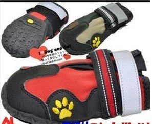 Free shipping! MOQ: 100set, waterproof high quality sports dog boot , dog shoes