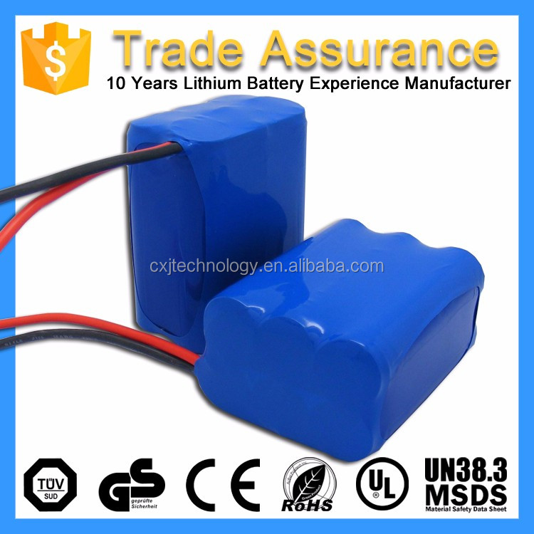 Customized Rechargeable Pack Wheelchair Lithium Ion Battery with Smart Control Board