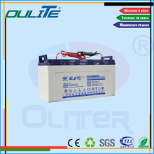 Manufacture Deep Cycle AGM Rechargeable Solar Gel Battery 12V 120AH for Middle East