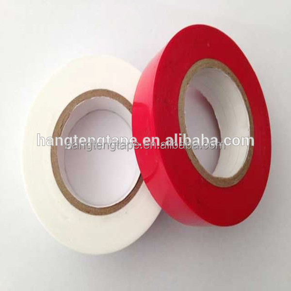 Colored pvc electrical insulation tape