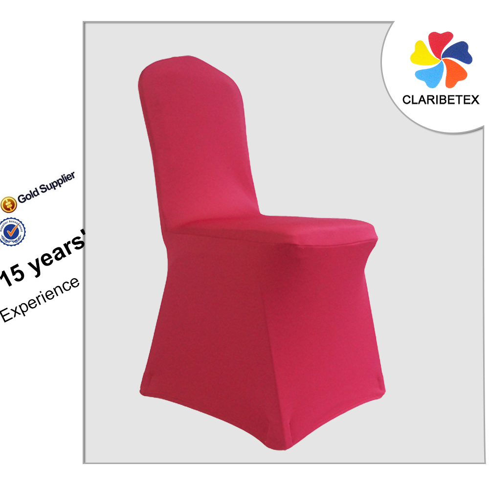 Customized Service Thick Spandex Wedding Chair Cover