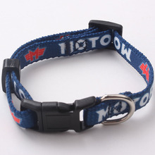 adjustable dog collar with reflective stripe dog leash high quality