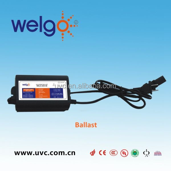25W Electronic Ballast for T5 UV Germicidal Lamp