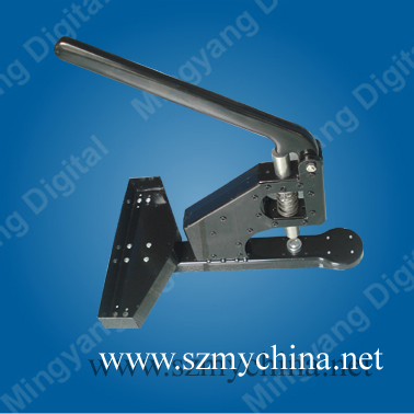 new design single ring eyelet punching machine for PVC banner