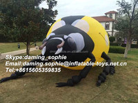 Vivid Custom Inflatable Ladybug Insect For Sale