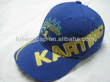 Hot Selling 6 panel perfect 3d embroidery baseball caps