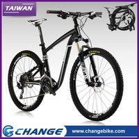 CHANGE Fox fork folding bicicletas suspension mountain bike